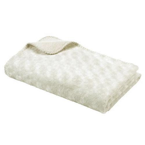Baby Dan dětská deka Double fleece krémová 6354-02