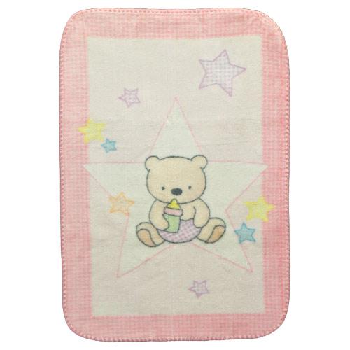 Mora deka Piccola pink 70x100 cm M612B 052 M612B 052
