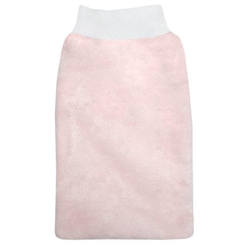 Babyrenka žínka Flanel Fleece s nápletem 25x16 cm Pink ZT036PI