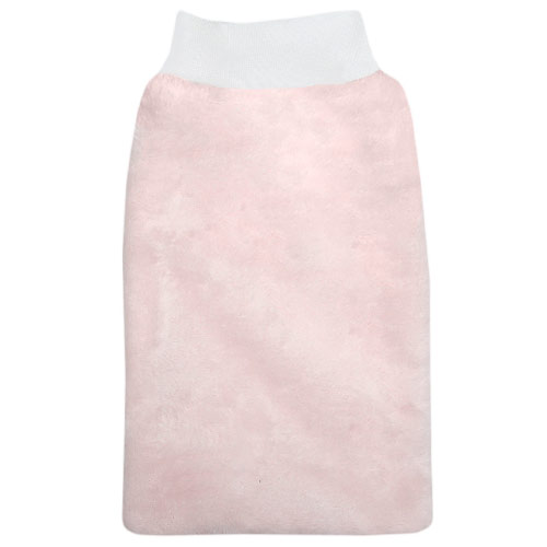 Babyrenka žínka Flanel Fleece s nápletem 25x16 cm Pink
