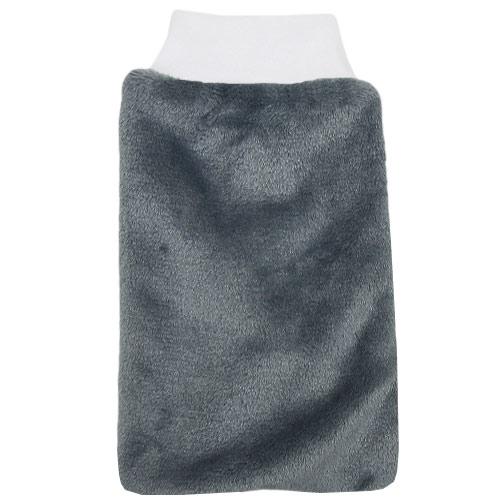 Babyrenka žínka Flanel Fleece s nápletem 25x16 cm Grey ZT036G
