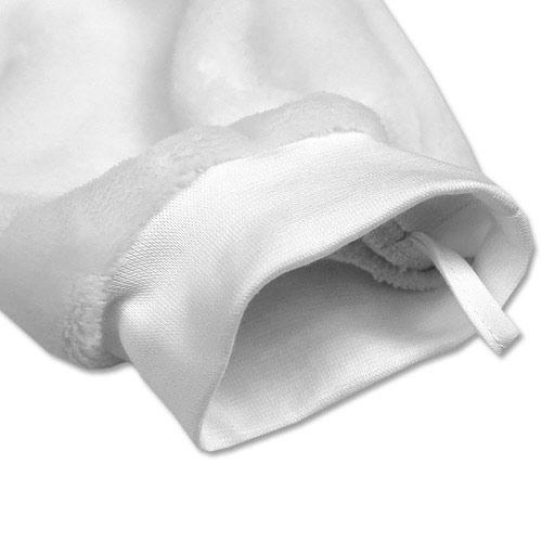 Babyrenka dětská žínka Polar 16x27 cm velká šedá 8596060018502