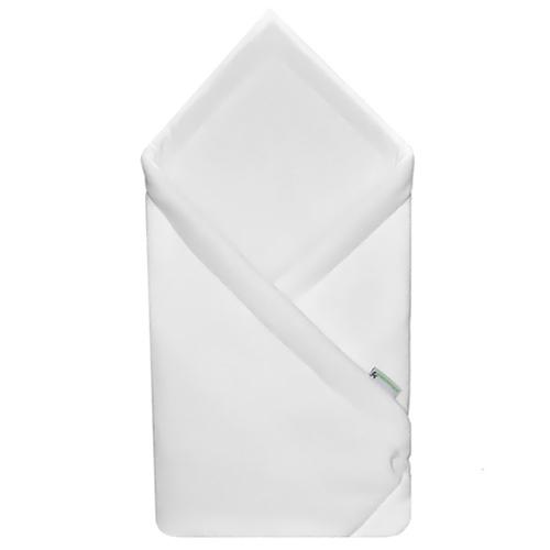 Babyrenka zavinovačka 75x75 Fleece úplet bílá bílá R75FUBB0130