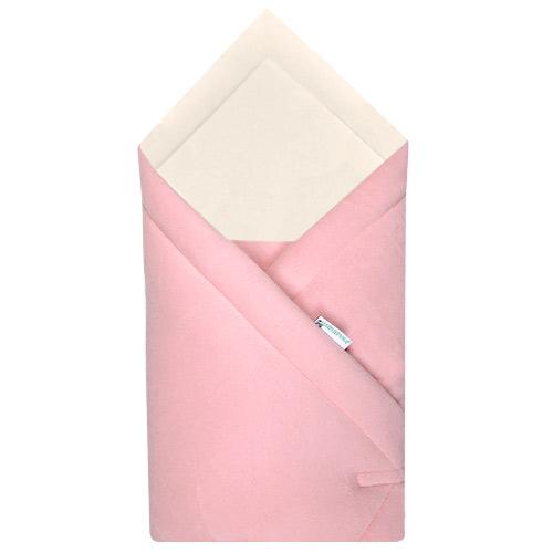 Babyrenka zavinovačka 75x75 Fleece biobavlna růžová R75FBR0180