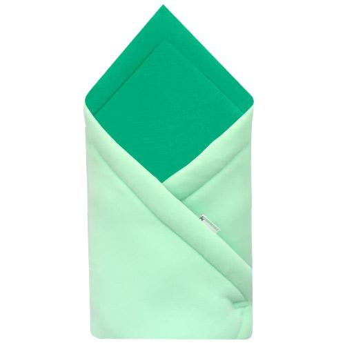 Babyrenka zavinovačka 75x75 Fleece úplet Mint Smaragd R75MS160