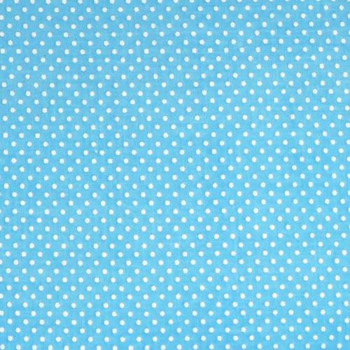Babyrenka zavinovačka 80x80 Basic Dots tyrkys bílá R8BB1040160