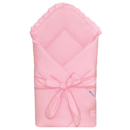 Babyrenka Zavinovačka 80x80 cm Basic s mašlí pink