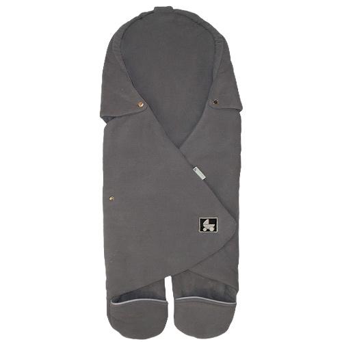 Babyrenka Zavinovačka do autosedačky Basic Fleece šedá ZAFSE350