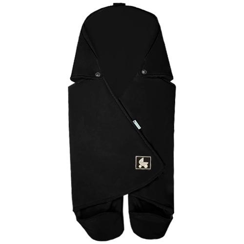 Babyrenka zavinovačka do autosedačky Basic Softshell Polar černá ZAB-SPC550