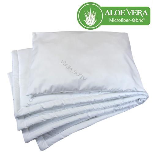 Babyrenka souprava deka a polštář 40x50, 90x120 Aloe Vera PL 200 gr Unico SPLA2000280