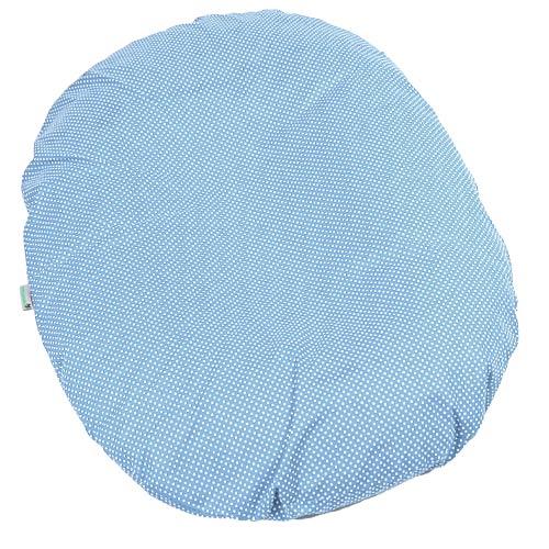 Babyrenka kojenecký relaxační polštář 80x60 cm Dots blue KRPDB380