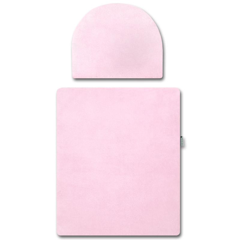 Babyrenka peřinky do kočárku Fleece růžové s výplní PKFR0225