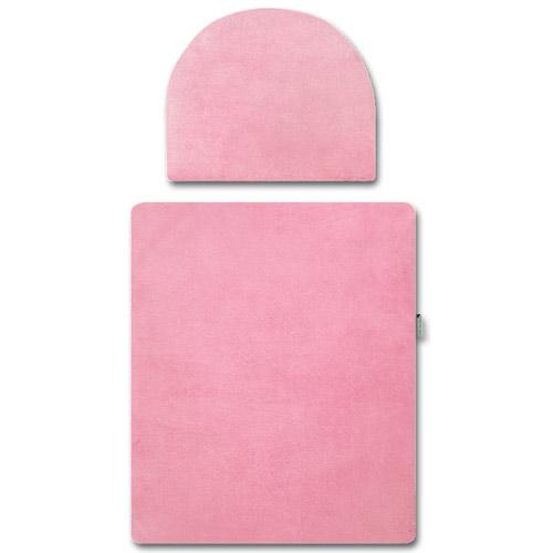 Babyrenka peřinky do kočárku Polar pink