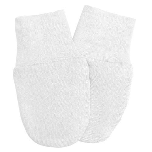 Babyrenka kojenecké rukavičky Úplet White RKW029