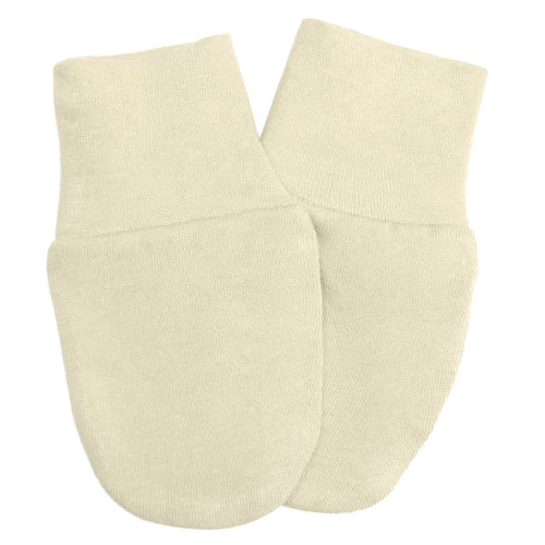 Babyrenka kojenecké rukavičky úplet natur RKN029
