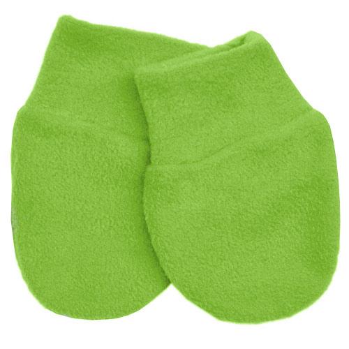 Babyrenka kojenecké rukavičky Fleece Lawn Green RFLG29