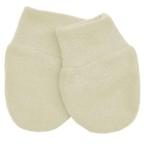 Babyrenka kojenecké rukavičky Fleece Ivory