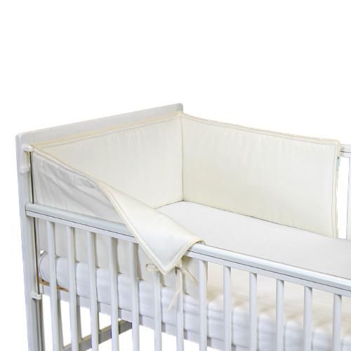 Babyrenka ochranný límec do postýlky 180 cm Uni natur L18030257