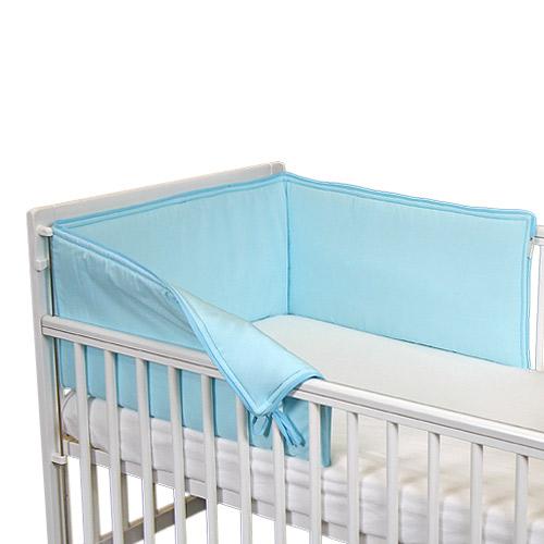 Babyrenka ochranný límec do postýlky 180 cm Uni tyrkys L18023257