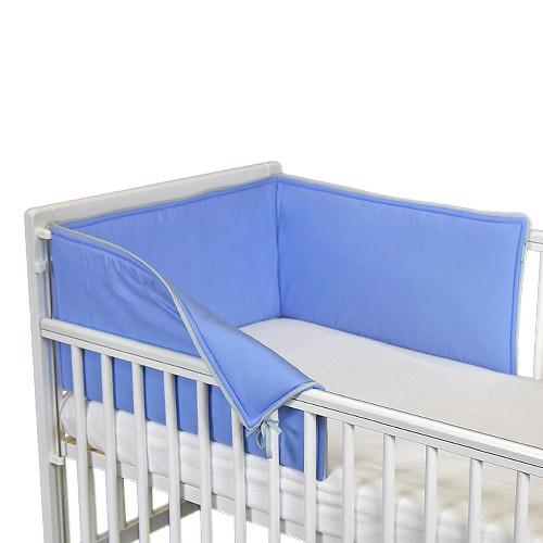 Babyrenka ochranný límec do postýlky 210 cm Uni blue L21020296