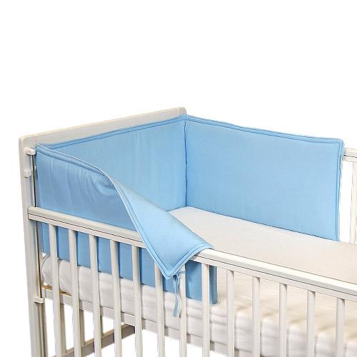 Babyrenka ochranný límec do postýlky 210 cm Uni sky blue L21022296