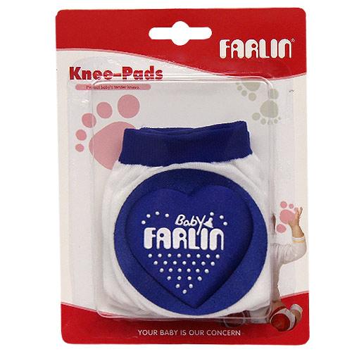 Farlin chrániče na kolena modrá BF305