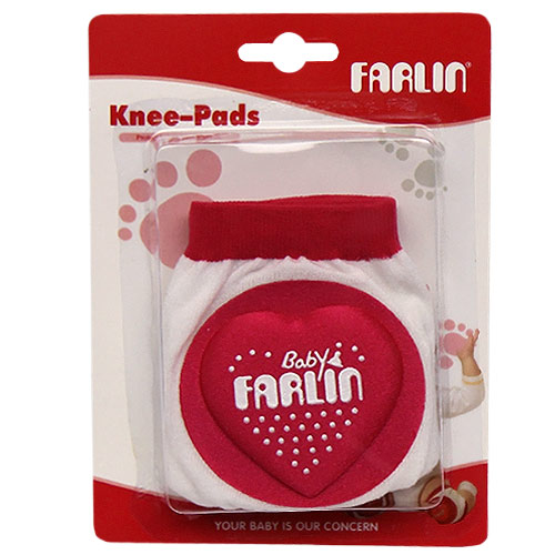 Farlin chrániče na kolena růžová BF305R