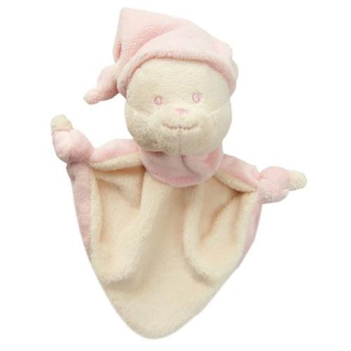 Baby Nova Mazlík medvídek růžový 31320