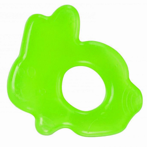 Baby Nova kousátko chladící zajíček zelený +3m