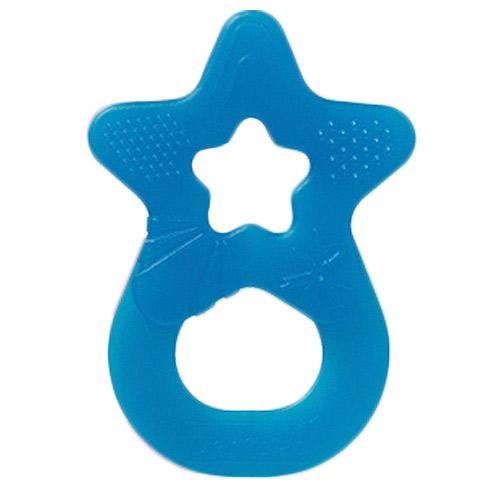 Denti Star kousátko silikonové hvězda tyrkysová 31187