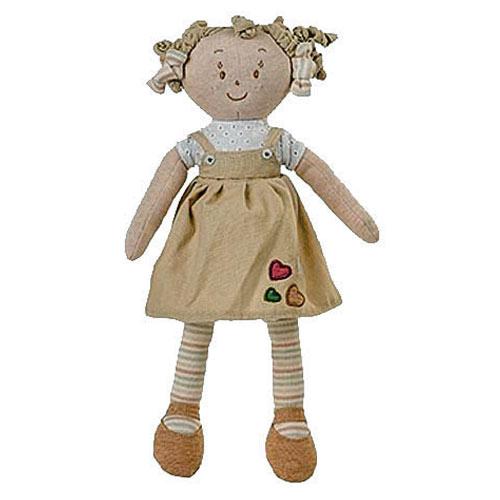 Baby Ono látková panenka Lily béžová BO1254