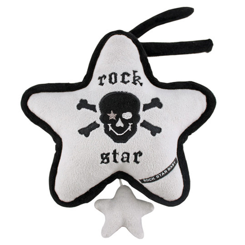 Rock Star Baby hrací strojek Rock Star Pirát s melodií Brahms 90502