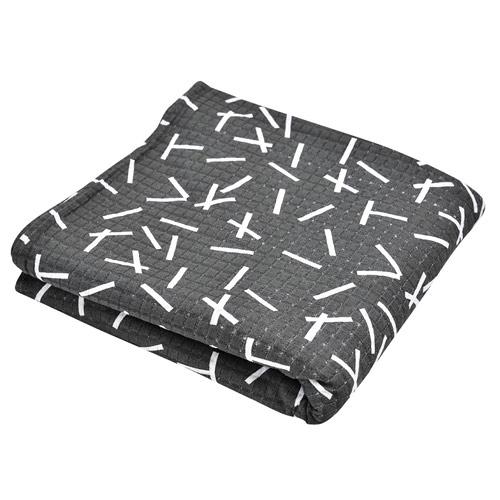 Lodger Cocooner šátek na nošení  Sprinkle print Carbon 22897