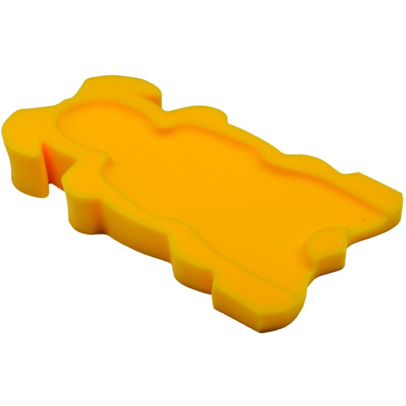 Badum molitanové lehátko do vaničky Maxi žluté Maxi01