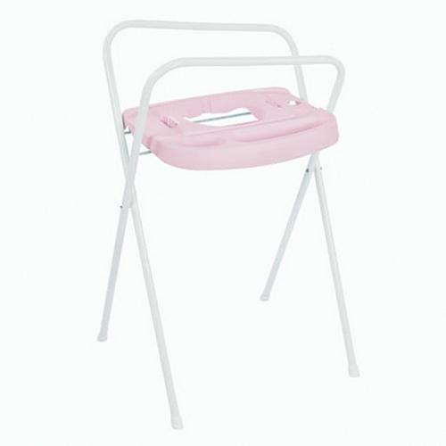 Bébé Jou kovový stojan na vanu Click 98 cm Pretty pink světle růžový B2200054 B2200054