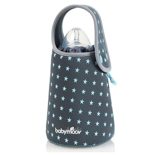 Babymoov ohřívač lahví cestovní Blue Stars šedomodrý A002102