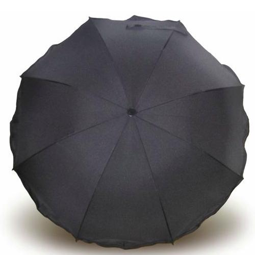 Eisbärchen slunečník ke kočárku Premium 80 cm černý e7008SZ e7008SZ