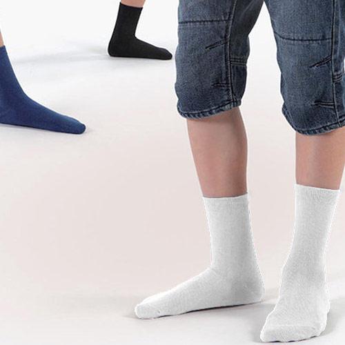 Rewon dětské ponožky bílé 15-16 102002