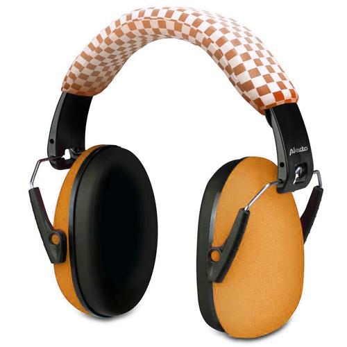 Alecto BV-71OE ochranná sluchátka pro dítě Orange