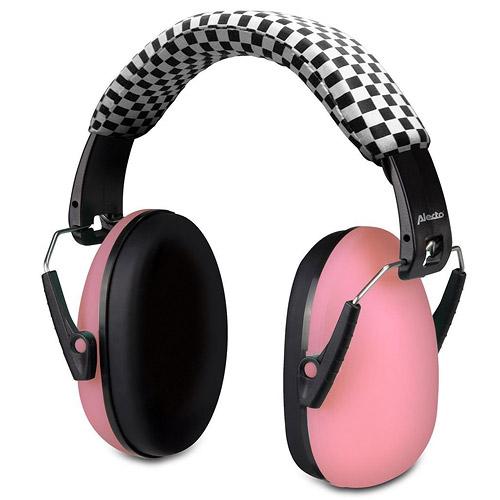 Alecto BV-71RE ochranná sluchátka pro dítě Pink