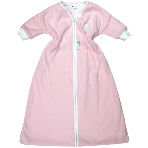 Babyrenka kojenecký spací pytel s rukávem 0-6 m Fleece pink SPRFP-0-6-355