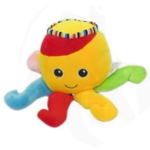 Teddies hrací strojek chobotnice yellow 56780103-Y