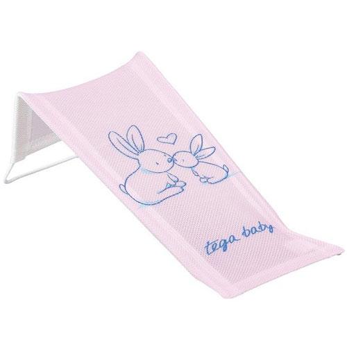 Tega lehátko do vany malé potisk králík růžová KR-026-104
