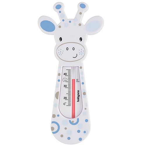 Baby Ono dětský teploměr koupelový žirafa bílá modrá 775/03BM