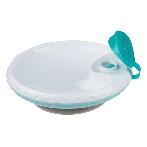 Baby Ono talíř 19 cm 300 ml s ohřívacím dnem tyrkys BO1070T