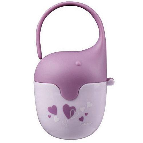 Baby Ono krabička na dudlík fialová BO529F