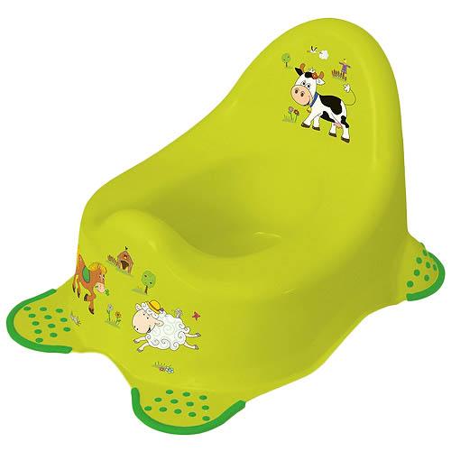 Keeeper nočník s protiskluzem Funny Farm 01543