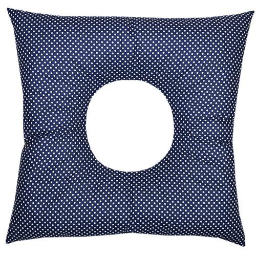 Babyrenka poporodní polštář 45x45 cm kuličky EPS Dots navy PP105DN