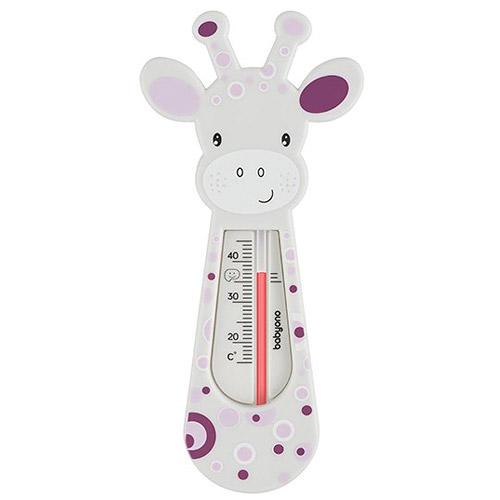 Baby Ono dětský teploměr koupelový žirafa šedá 5901435408711