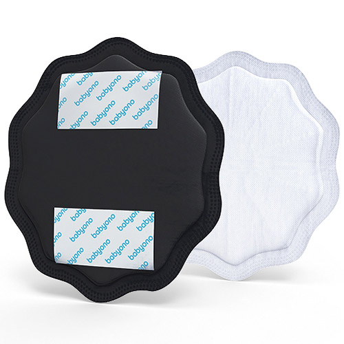 Baby Ono laktační vložky Natural Nursing 24 ks černé BO298/02